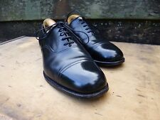 CROCKETT & JONES VINTAGE OXFORD – BLACK – UK 8 – EXCELLENT CONDITION