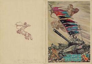 Calendario 1960.Dettagli Su Militari Dopoguerra Div Corazzata Centauro Pieghevole Con Calendario 1960