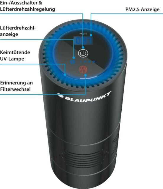 Blaupunkt Air Purifier Airpure AP 1.1 Luftreiniger KFZ Wohnmobil Auto