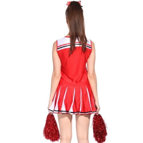Adult Women/'s CHEERLEADER OUTFIT Halloween Hen Do Party Plus Size EXTRA LARGE