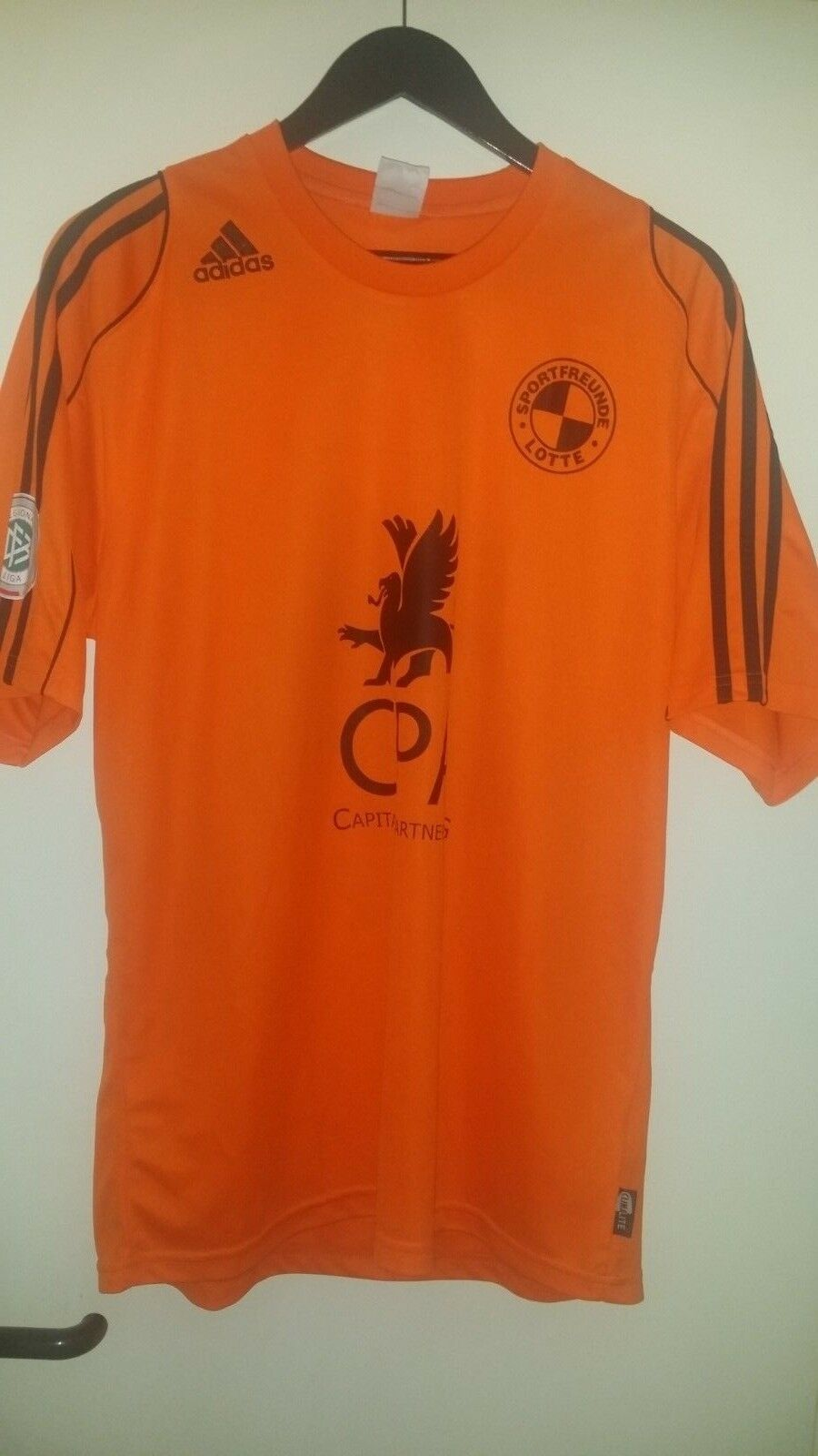 Trikot Fußball VfL Sportfreunde Lotte Lotte Lotte Regionalliga 2011 adidas L Orange 5fd682