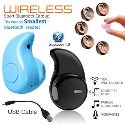 b65aac87dd2 Details about Wireless Bluetooth S530 Mini Earbud Earphone Earpiece Headset  Sport Gym In-Ear