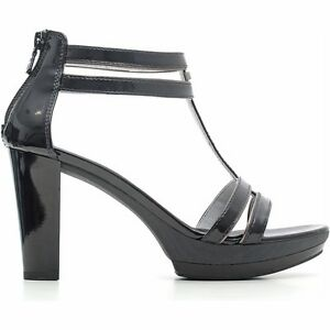 Sandalo nuova collezione NeroGiardini P615512D bianco o nero tacco e plateau