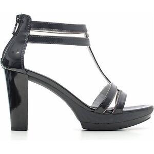 size 40 156dc 31bf1 Sandalo nuova collezione NeroGiardini P615512D bianco o nero tacco e  plateau - mainstreetblytheville.org