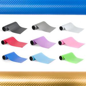 Vinyl-Wrap-3D-Carbon-Fibre-Air-Bubble-Free-All-Sizes-Colours-Gloss-Matt