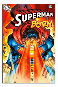 Superman-Burn-DC-Comics-Large-Wall-Poster-New-Maxi-Size-36-x-24-Inch