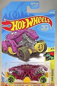 2018-Hot-Wheels-230-Dino-Riders-4-5-DOUBLE-DEMON-Purple-w-Green-Whls-Black-5-Sp