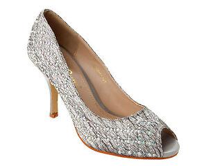 de nuptiale pour chaussures On mariage de Slip femmes UqBIfx