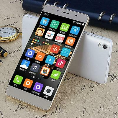 "M5 5"" Unlocked Dual SIM Android Smartphone Qcta Core 8GB Cell Phone US Plug!!!"