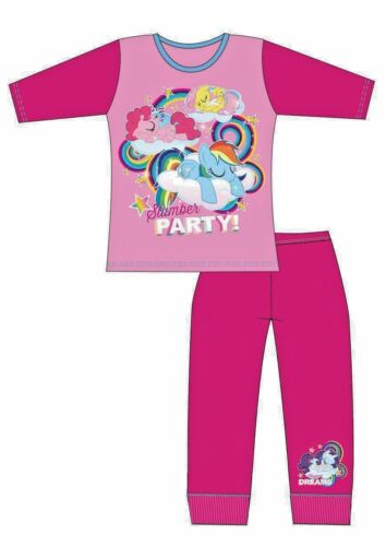 Enfants Filles My Little Pony Character Pyjama Set Pyjamas Nightwear Rose Âges 4-10