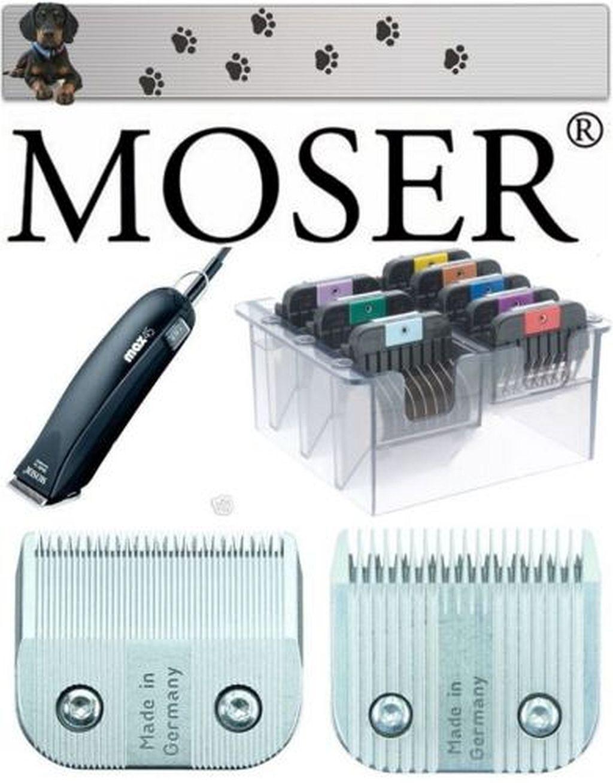 Moser Tosatrice per Cani Gatti Persiani Max 45 + 1 10 mm + 1 Testina Rasoio +