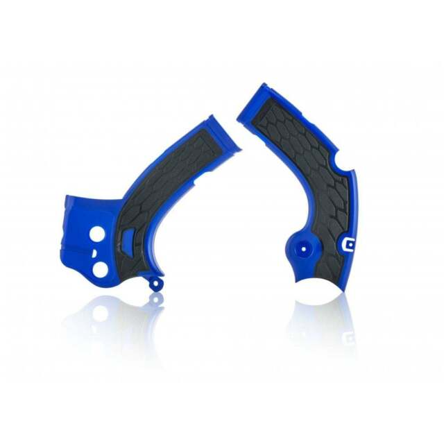 Acerbis X-Grip Marco Protectores - Yamaha YZF250 17-18, YZF450 16-17 - Azul