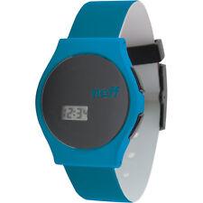 Neff Black Blue Digital LCD Quartz Wrist Watch NF0219