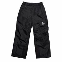 Gerry Boys Girls Black Snow Pants M Medium 10-12 With Tags