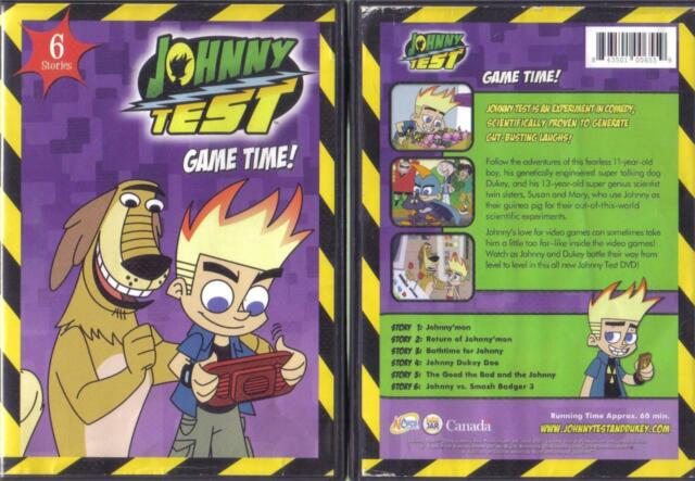 DVD:JOHNNY TEST GAME TIME.....6 STORIES