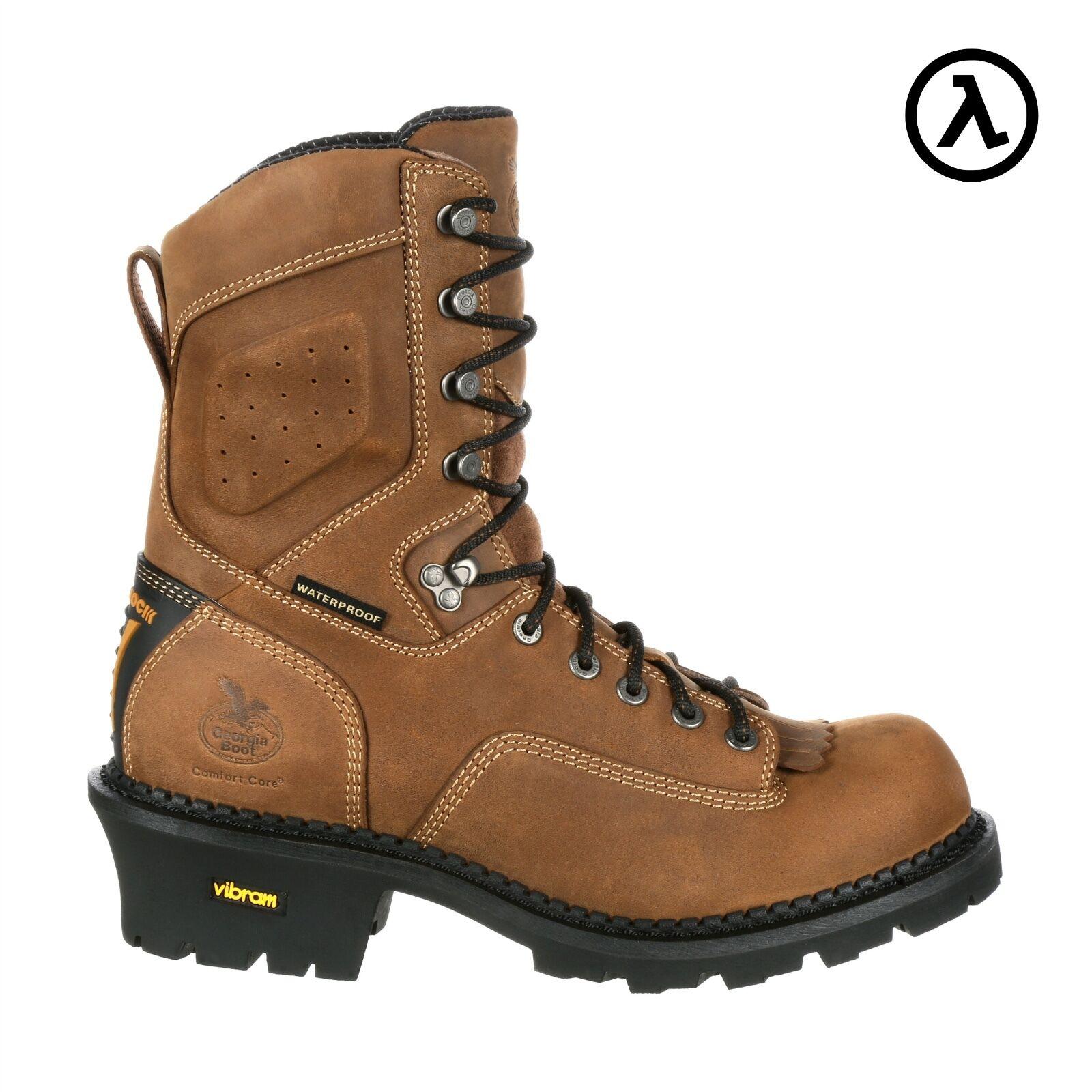 GEORGIA COMFORT Core registrador Impermeable botas De Trabajo GB00096  todos Los Tamaños-M w 8-13