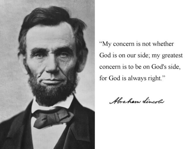 Abraham Lincoln Famous Quotes President Abraham Lincoln Autograph Famous Quote 8 X 10 Photo  Abraham Lincoln Famous Quotes