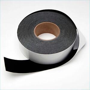 "2"" x 60' Black Felt Tape for DIY Projector Screen"