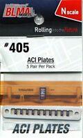 Blma Models N Scale Aci Plates (5 Pair Per Package) 405