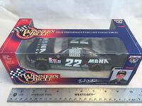 1998 Winners Circle Ward Burton 22 Mbna America Pontiac Nascar 1:24 Scale