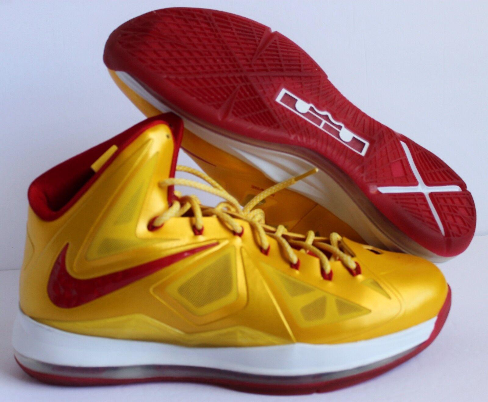Nike 2013 lebron 10 james yellow-ROT 10 lebron x - id - sz. e975c3