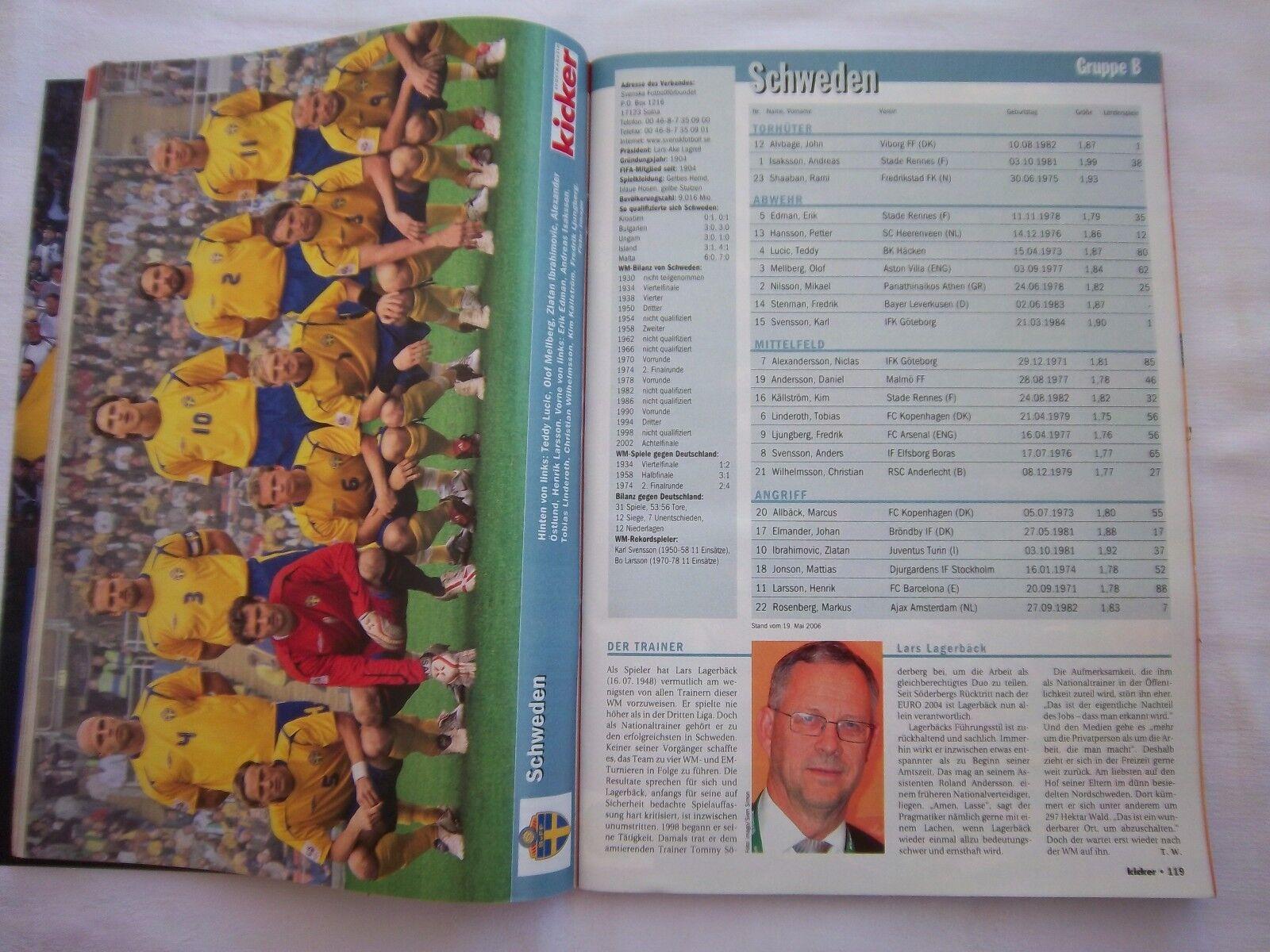 Orig.Komplette PRG  Weltmeisterschaft DEUTSCHLAND DEUTSCHLAND DEUTSCHLAND 2006 - Sonderotition    SELTEN d2debf