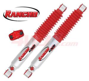 "RANCHO RS9000XL REAR SHOCKS TOYOTA IFS HILUX (4"" LIFT)"