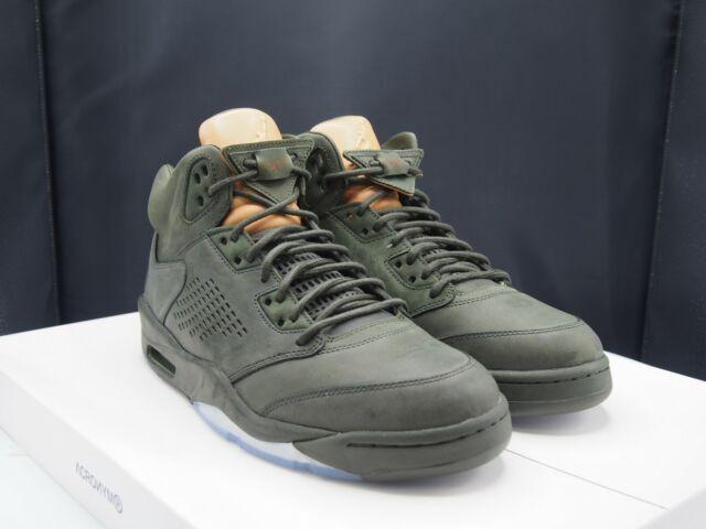 Nowe zdjęcia świetne dopasowanie na wyprzedaży Nike Air Jordan 5 Retro Prem V Premium Take Flight Men Sequoia Aj5  881432-305 9
