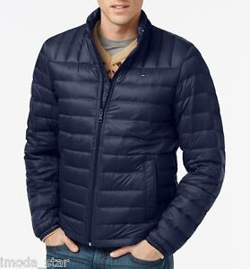 3edf2b5aa95c Packable Down Jacket Brand New by Tommy Hilfiger Men s Lightweight ...
