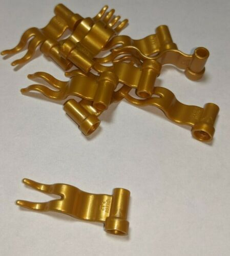 """Flag Streamer 4495 Discounts On Multiple Lots /""""Pearl Gold/"""" 10 NEW LEGO Gold"""