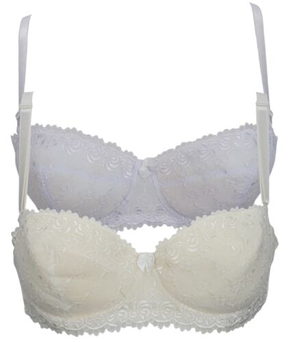 Trifolium Lightly Padded Embroidered Multiway Bra