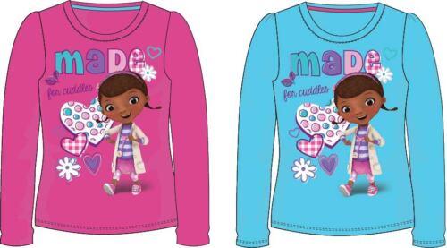 Doc McStuffins langarm Shirt 92 98 104 110 116 122 Mädchen Langarmshirt Stuffy