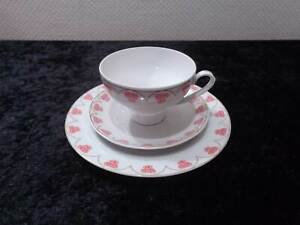GDR-Colditz-Design-Porcelain-Collector-039-s-Place-Setting-Vintage-Around