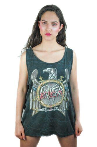 Vintage Slayer shirt 1990 concert shirt band tee S