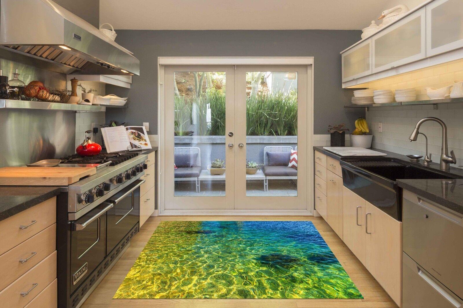3D Tropical Sea 3 Kitchen Mat Floor Murals Wall Print Wall Deco AJ WALLPAPER CA