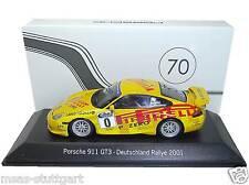 Porsche 911 GT3 Deutschland Rallye 2001 Walter Röhrl / Geistdörfer Spark 1:43