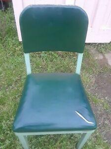 Vintage Metal Office Chair By Royal