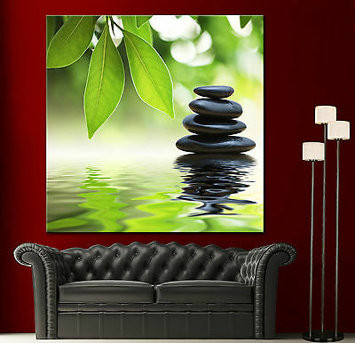 Wall Art Canvas Giclee Print Spa Zen Colorful Picture Decor Print 2