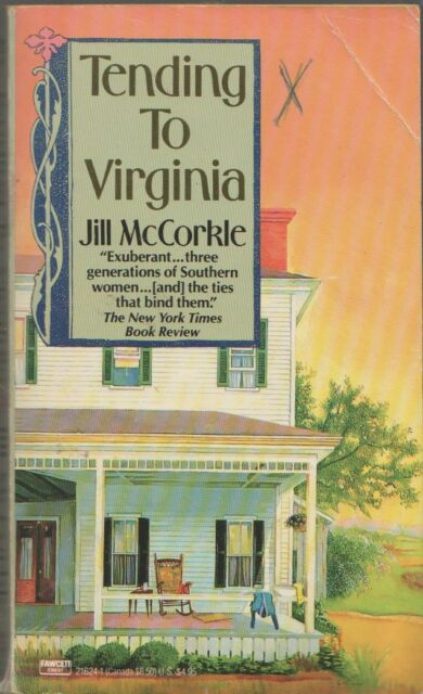 Tending to Virginia Jill McCorkle good condition mass-market paperback Fawcett