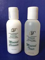 Deluvia Dead Sea Mineral Cleanser & Mineral Toner2 Fl Oz /60ml