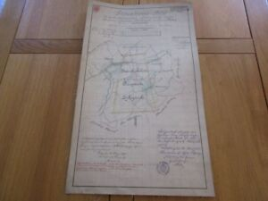 Carte Manuscrite Concession Mines Moselle Annexion Hilsprich Morsbronn 1897 Egdh9uhu-07225152-959979583