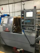 Used 2004 Haas Sl 10t Cnc Turning Center Lathe Tailstock Tool Setter Chip Auger