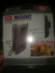 LCD Mount VESA Compatible Flat/Tilt Wall Mount NWT