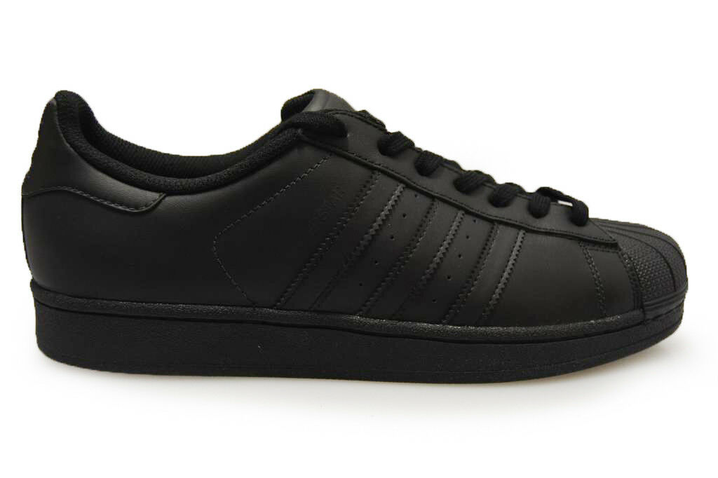 Hombre Adidas Superstar - AF5666 - - - Triple Negro Trainers 1b7c5a