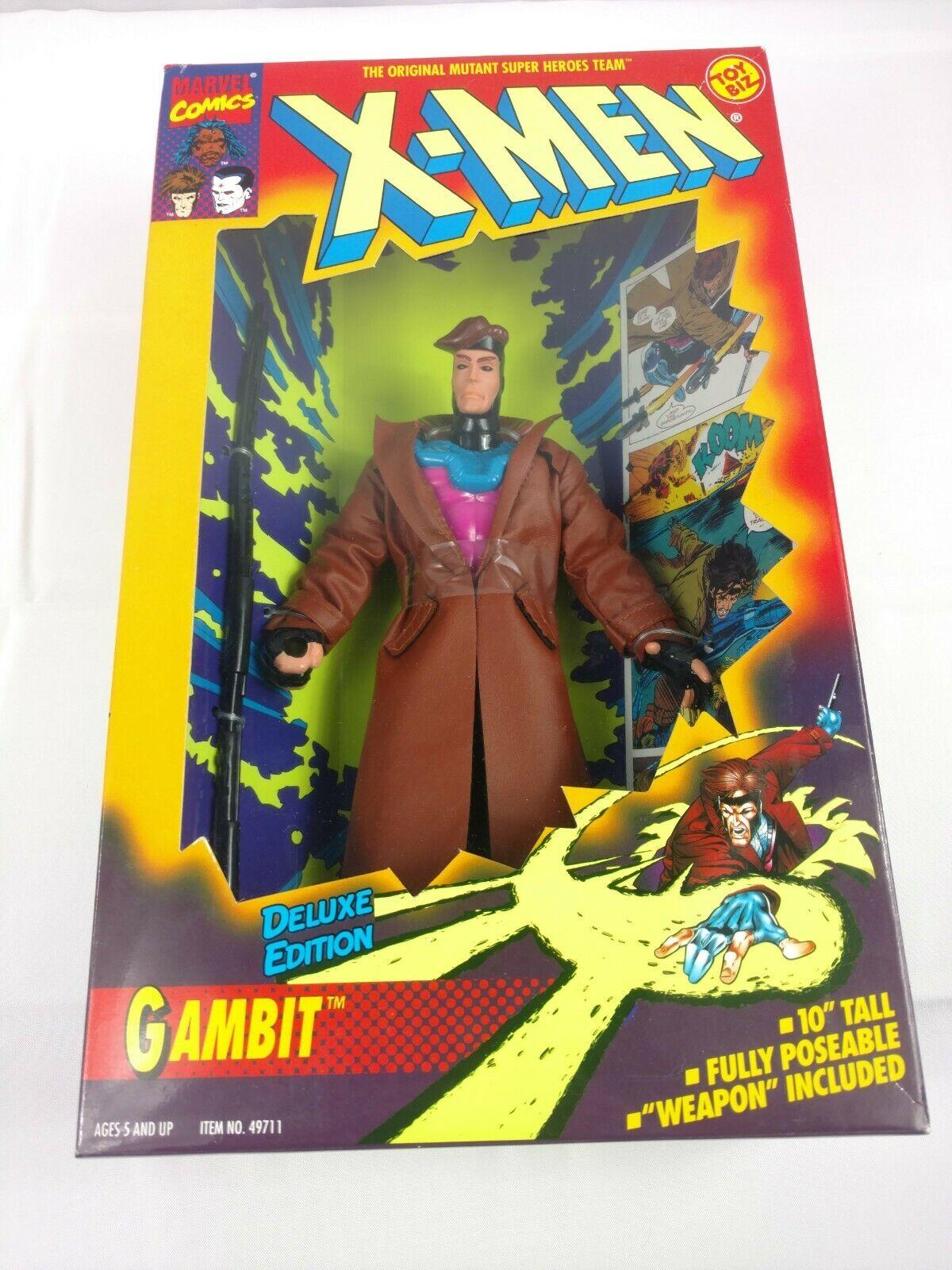 vendiendo bien en todo el mundo Vintage 1994 X-men Gambito Edición de Lujo Figura Figura Figura de Acción 10  JugueteBiz Comic Libro Película  ahorra hasta un 80%