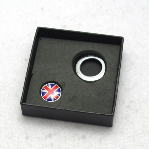 Union Jack Emblem Engine Start Button For Mini One Cooper Countryman Clubman