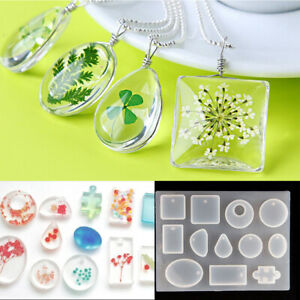 Silicone-Pendant-Mold-Making-Jewelry-For-Resin-Necklace-Mould-Craft-DIY-Design