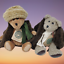 thumbnail 8 - Boyds-Vintage-Aunt-Bessie-and-Skidoo-Plush-Retired-Bears-1990-039-s
