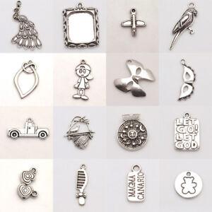 Wholesale Tibetan silver  Earring Jewelry Connectors Bails Charms Pendan 23x16mm