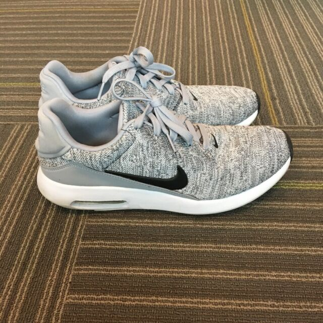 Nike Air Max Modern Flyknit Mens Running Shoes Wolf Grey US Size 9.5 876066 001
